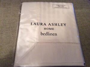 New Laura Ashley Shalford Cream Oxford Pillowcase - 100% Cotton - 200 TC