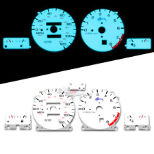 Reverse Indiglo Glow Gauge For Nissan 98-99 Altima GLE//GXE//SE 120MPH 8KRPM AT//MT