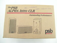 PSB ALPHA INTRO LR HOME THEATRE CENTRE SPEAKER UNIT NEW