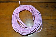 4mm Rubber Cord 10 yards PINK Great for Bracelets and Necklaces