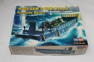 MAQUETTE 1/48 HOBBY BOSS WW2 LCM3 USN VEHICLE LANDING CRAFT 84817 MODEL KIT
