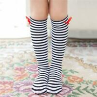 Newborn Baby Toddler Knee High Cute Long Sock Boys Girls Leg Warmers Socks DD