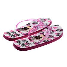 Under New Management Newly Weds Ladies Pink Flip Flops UK Size 4-8 - XFFS067