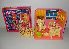 Boite décor Nurserie Baby sitting room poupée BARBIE MATTEL Vintage 1977