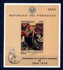 PARAGUAY - 1967 - BF - Dipinti del XVI secolo. Assunzione della Vergine. E3860