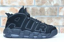 new style c4148 d7bde Men s Nike Air More Uptempo 96 Triple Black Reflective 3M Size 11 414962-004