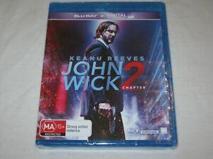 John Wick Chapter 2 - Keanu Reeves - Brand New & Sealed - Region B - Blu Ray