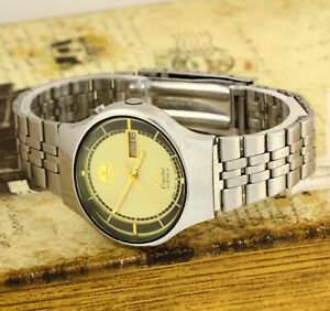 Orient 3 stars Crystal automatic men's stainless steel watch Caliber 46941