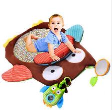 Baby Kids Play Mat Owl Carpet Crawling Blanket Game Toys doll plush baby gifts A