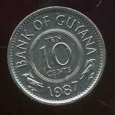 GUYANA  10 cents  1987