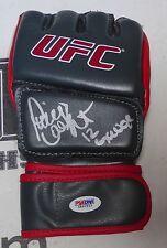 Paige VanZant Signed UFC Glove PSA/DNA COA 12 Gauge MMA Autograph on Fox 15 191