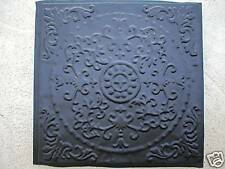 ANTIQUE ENGLISH FLOWER CEMENT STEPPING STONE, TILE MOLD