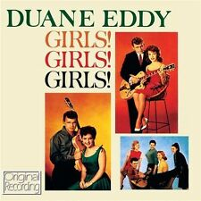 DUANE EDDY - GIRLS! GIRLS! GIRLS! (NEW SEALED CD) ORIGINAL RECORDING