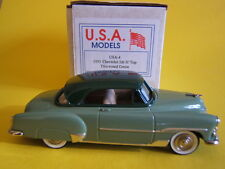 Motor City#04 Chevrolet  2 Door Hard Top '51 n/Design Studio Brooklin CCC 1/43