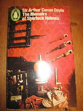 The Memoirs of sherlock Holmes Sir Arthur Conan Doyle Penguin Books 1967