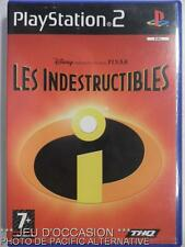 OCCASION: Jeu LES INDESTRUCTIBLES playstation 2 PS2 sony francais disney pixar