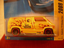 Hot Wheels Custom '77 Dodge Van 2008 New Models, Yellow