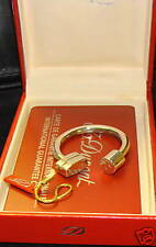 S.T. Dupont SILVER HORSE SHOE KEY RING