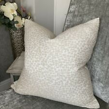 """Abstract Cushion Cover 18"""" John Lewis & Partners Yin , Putty"""