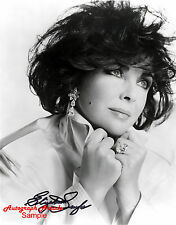 ELIZABETH TAYLOR Signed Original Autographed Photo 8x10 COA #1