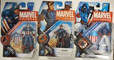 Marvel Universe Super Soldier Capt America (S2#8), Bucky (S2#10), Patriot (S4#2)