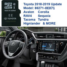 TOYOTA Navigation Micro SD Card Map Data 2019 UPDATE OEM 86271 0e071