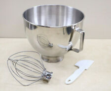 Kitchen Aid  Stainless Replacement Mixing Bowl K45 4 1/2 Qt. + Wisk