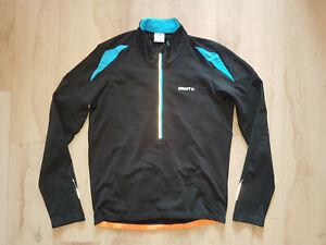 Craft Performance Bike Long Sleeve Thermal Fleece Lined Cycling Jersey Men XL