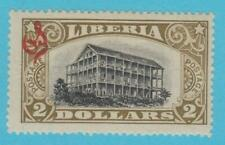 LIBERIA O109 MINT HINGED OG *   NO FAULTS EXTRA FINE !