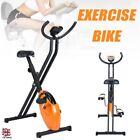 Heavy Duty Exercise Bike Folding Fitness Cardio Machine Workout Bicycle UK /