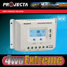 PROJECTA SOLAR CONTROLLER 45AMP SMART AUTOMATIC 4 STAGE 12V 24V LCD SCREEN SC245