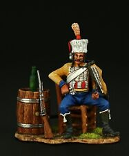 Tin soldier, Collectible, Trumpeter of the 9th Hussars, 54 mm, Napoleonic Wars
