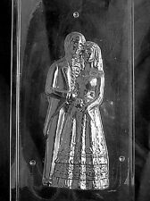"W301A & B 2P 3D 10"" Bride and Groom Chocolate Candy Soap Mold with Instructions"