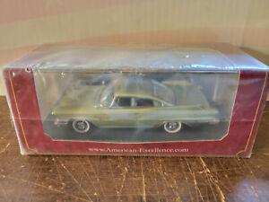 American Excellence 1960 Dodge Polara Coupe Green 1:43 Neo# 44095