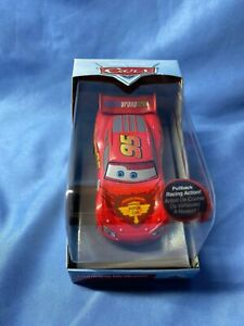 Disney Pixar Lightning Mcqueen 95 Piston Cup Pullback Racing Action Diecast Car