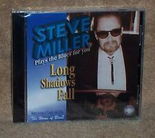 * SEALED CD - STEVE  MILLER PLAYS THE BLUES FOR YOU - LONG SHADOWS FALL - BLUEZ