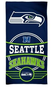Seattle Seahawks NFL Calcio Telo Mare Asciugamano da Bagno Spiaggia NFC