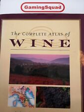 The Complete Atlas of Wine, Stuart Walton HB Book, Supplied by Gaming Squad