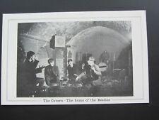 THE BEATLES  ORIGINAL 1963 / 1964  U.K. CAVERN CLUB CARD  EXCELLENT