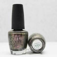 OPI Nail Polish Discontinued HL D18 The World Is Not Enough 15ml 0.5oz Skyfall