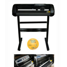110v Lcd 24inch 500g Cutting Plotter For Pu Vinyl With Craftedge Software