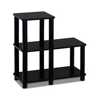 Modern Coffee Table Small Wood End Storage Stand Living Room Furniture Black New