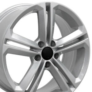 "OEW 18"" Wheel Rim Fits VW Volkswagen CC VW18 Silver Hollander 69924 18x8"