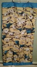 """Despicable Me Minions Kids Sleeping Bag 55"""" X 28"""" w/Backpack Bedding Camping"""