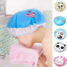 Women Lady Shower Cap Waterproof Bath Hat Cleaning Dry Hat Cover Hot Hair S M2R6