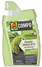 COMPO Bio Rasen Moos-frei Herbistop 500 ml Moosvernichter Moosentferner Garten