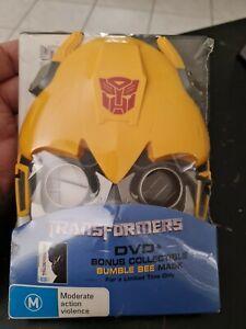 Transformers DVD + Bumblebee Mask