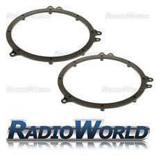"Audi A6 TT Speaker Adaptor Rings Front / Rear Doors 6.5"" 165mm SAK-1106"