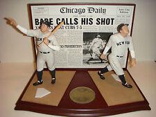 Danbury Mint Baseball Greatest Moments NY Yankees Babe Ruth Called Shot Figure