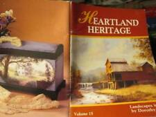 Heartland Heritage Painting Book #15-Dorothy Dent-Landscapes In Oil